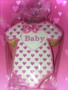 Baby Girl Onesie Sugar Cookie