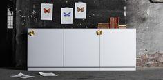 Türen, Füsse, Griffe für Besta Pax und Faktum Küchen von Ikea