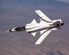 The X-29 forward-swept wing demonstrator.  One of my favorite jets of all time!