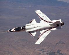 The X-29 forward-swept wing demonstrator