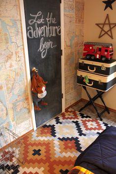 Sweet Something Designs: Logan's Room: Vintage Camp