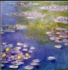 Claude Monet - Nympheas at Giverny (1)