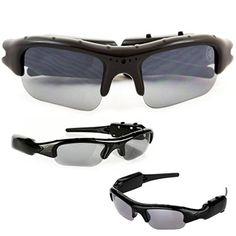 35222445d4 Amazon.com   SpyCrushers Spy Camera Glasses - Best Spy Sunglasses Mini DVR Spy  Gadget Available - Video Recorder