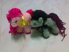 Mini Pony Doll Crochet Pattern.