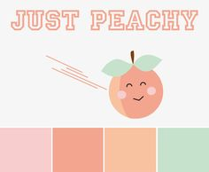 Logo for my all girls dodgeball team, Just Peachy. :)