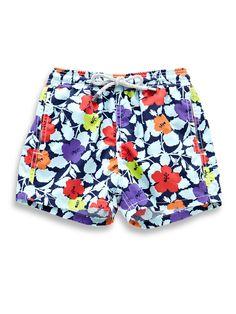 Hawaiian Pop Swim Trunks