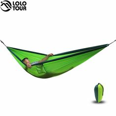 cheap bed lounge buy quality bed wall directly from china swing shop suppliers  ultra large 2 person parachute cloth hammock double garden swing nylon     2 people hammock 2017 camping survival garden hunting leisure      rh   pinterest