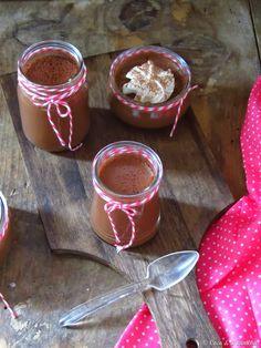Petits pots de crème de chocolate e avelã {com leite de avelã}