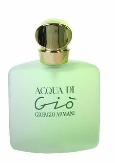 b8e7bdd585 Acqua Di Gio Giorgio Armani para as mulheres. Eau De Toilette Spray 3.4  Ounces Mais