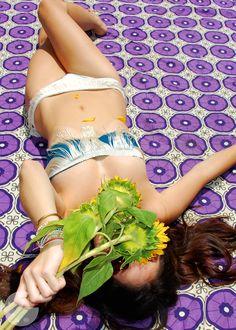 D.I.Y fringe bikini
