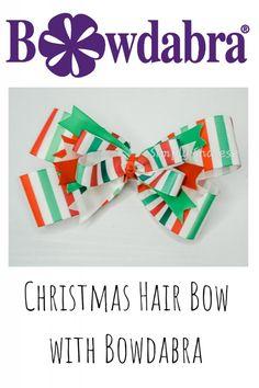Christmas Crafts   Christmas DIY Gifts Making   Bowdabra Bows Christmas Hair Bows, Diy Christmas Gifts, Holiday Crafts, Bow Making Tutorials, Craft Tutorials, Video Tutorials, Making Hair Bows, Diy Hair Bows, How To Make Hair