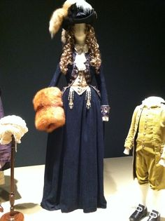 Keira Knightley's Blue Fox Uniform in 'The Duchess', 2008. Late 18th Century Georgian costumes by Michael O'Connor.