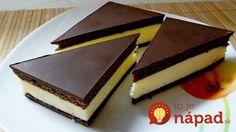 Výborný dezert pre všetkých fanúšikov čokoládovo-mliečnych tyčiniek a koláčikov. Pripravíte ho jednoducho a u nás doma sa teší väčšej popularite ako dezerty známe z reklamy. Pripravte si poctivú dobrotu bez éčok a chémie.