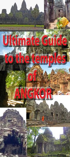 Ancient Angkor and the Top 10 Temples of Angkor Wat Archaeological Park. Detailed post with lots of photos http://bbqboy.net/ancient-angkor-and-the-top-10-temples-of-angkor-wat-archaeological-park/ #Angkor #cambodia
