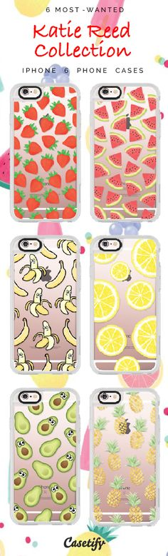 Top 6 Katie Reed collection iPhone 6 protective phone case designs | Click… Cell Phones & Accessories - Cell Phone, Cases & Covers - http://amzn.to/2jXZVL6