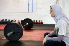 Computer Engineer & Olympic Weightlifter Hijabi Superwoman