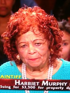Ugly People of Judge Judy. Good freaking Lord.