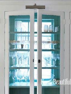 Jeffrey Bilhuber Design - Window Backed Cupboard