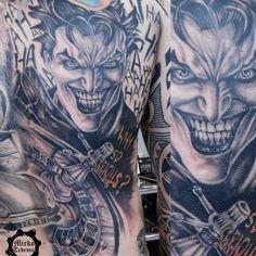 Joker #jokertattoo #tattoo #tatuaggio  #soulskin #soulkinink