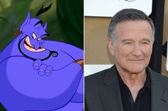 The Genie: Robin Williams - The Voices Behind Your Favorite Disney Characters - Photos