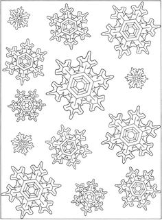 Welcome to Dover Publications - Creative Haven Snowflake Designs ...