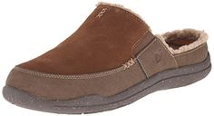 ACORN Men's Wearabout Slide with Firmcore Mule Suede upper Removable microsuede FirmCore footbed Vegan leather sidewall Rugged outsole Berber Fashion Shoes, Mens Fashion, Acorn, Warm And Cozy, Vegan Leather, Clogs, Footwear, Loafers, Slip On