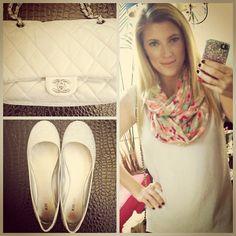.@missellefowler | OOTD: Topshop shirt, American Eagle scarf, Cellairis by Elle iPhone... | Webstagram - the best Instagram viewer