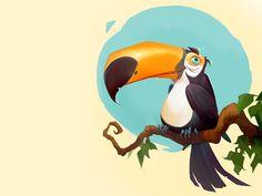 Meet my friend Larry! Larry bird :)  Facebook  |  Behance  |  DeviantArt   |  Artstation