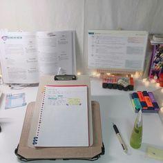 Study Desk, Study Space, Cute Handwriting, Study Corner, Cute Apartment, Study Areas, Writing Table, Study Hard, Studyblr