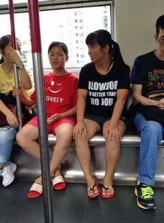 10 Foto lucu tulisan di kaus ini bisa bikin orang gagal paham
