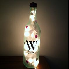 Lamp bottle