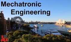 What is Mechatronic Engineering? If you are thinking of studying Mechatronic Engineering , or any sort of engineering, here are a few things to think about... Mechatronic engineering (in a nutshell) is a branch of engineering that covers Mechanical https://www.youtube.com/watch?v=BRAWjiP5OzM