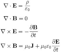 Maxwell's equations homework help