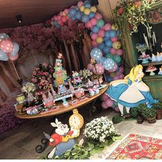 Baby Shower Themes Outdoor Alice In Wonderland Trendy Ideas Mad Hatter Party, Mad Hatter Tea, Mad Hatters, Girl Baby Shower Decorations, Baby Shower Themes, Girls Tea Party, Outdoor Birthday, Alice In Wonderland Tea Party, New Baby Products