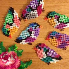 Birds perler beads by abbykristyne