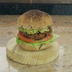 Una hamburguesa súper saludable, deliciosa, sencilla y completa!