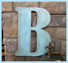 How to make rustic letters. #DIY