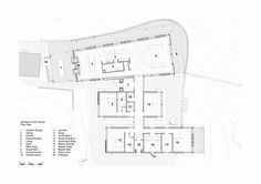 Gallery of Jamberoo Farm House / Casey Brown Architecture - 9 Architecture Site Plan, Farmhouse Architecture, Architecture Photo, Rural House, Farm House, Architects Sydney, House Plans Australia, Ground Floor Plan, House On A Hill