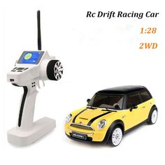 Mini rc car 2wd electric remote control cars 1:28 scale rc drift racing cars model for kids children gift