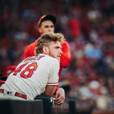 """Harrison Bader on Instagram: """"Choose to be G R E A T🔮"""" Cardinals Players, Stl Cardinals, St Louis Cardinals, St Louis Baseball, My Love, Books, Sports, Instagram, Hs Sports"""