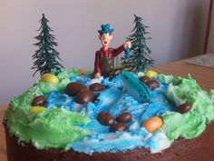 fly fishing theme cakes | Fishing Birthday Cakes