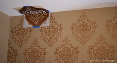 How to Stencil a Wall: Tips and Tricks