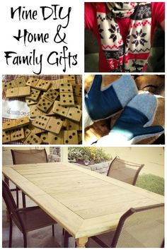Gotta check these out - Nine DIY Gifts for Home and Family