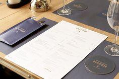 Restaurant Hafen Romanshorn, Corporate Identity by Susanne Fritz Architekten, Photo © Pierre Kellenberger