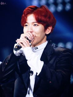 EXO's Baekhyun 161101 SBS Power FM 20th Anniversary Concert