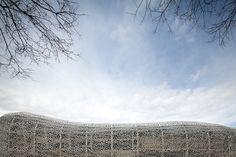 Stade Jean Bouin | Paris, France | by Rudy Ricciotti | by | by Yohan Zerdoun