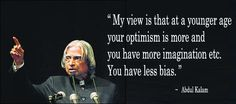 Thought for the day from Abdul Kalam