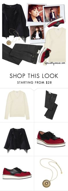 """Fall outfit inspired by War of Hormone from BTS"" by yooane on Polyvore featuring Uniqlo, Vanessa Bruno, Givenchy, Kilian, bts, BangtanBoys, Suga, bangtansonyeondan and minyoongi"