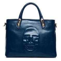 Skull Heads Design Female Handbag