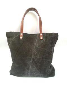 Borsa in jeans  di Virgin - Handmade Bags and more  su DaWanda.com